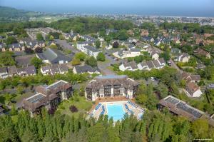 A bird's-eye view of La Résidence du Golf de Deauville