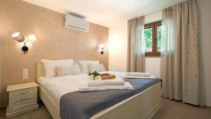 Krevet ili kreveti u jedinici u objektu Casa Valla