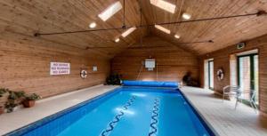 The swimming pool at or near Kilmokea Country Manor & Gardens