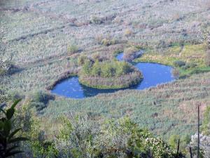 Vista aerea di Bedrooms Ninfa Del Lago