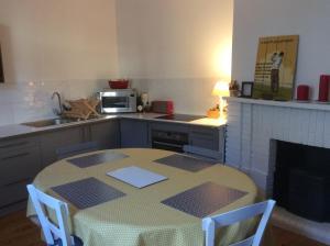 Cuisine ou kitchenette dans l'établissement La Terrasse, Centre St-Antonin