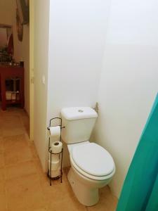 Een badkamer bij Casa Visconde de Alcácer