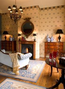 Zona de estar de Brugsche Suites - Luxury Guesthouse