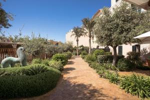 Jardin de l'établissement Hotel Can Faustino Relais & Chateaux