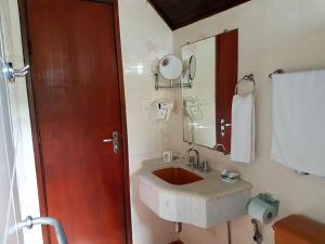 Um banheiro em Hotel Akropolis