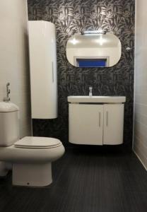 Ванная комната в Отель Полянка