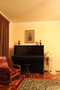 A television and/or entertainment center at VAN Garden