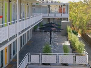 A balcony or terrace at Quality Hotel Carlton