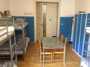 A bunk bed or bunk beds in a room at Hostel Rosemary