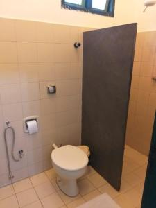 A bathroom at Pousada do Ipe