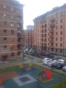 The swimming pool at or near Двухместная комната в квартире