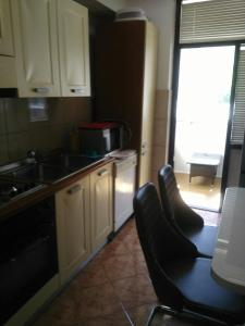 A kitchen or kitchenette at Apartman Igalo 1