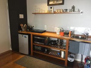 A kitchen or kitchenette at Smiths Lake House