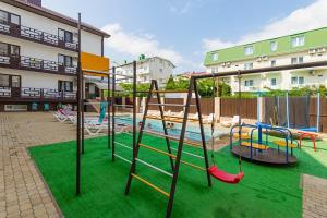Children's play area at Iris Guest House