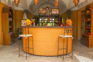 Salon ou bar de l'établissement Riad Dar zen - Ferme d'hôtes Marrakech
