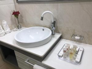 A bathroom at Desalegn Hotels and Resort