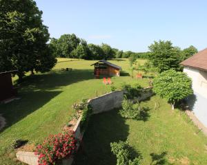 Zahrada ubytování Studios Mažar