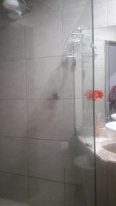 Um banheiro em Pousada Samarkanda