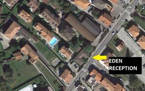 A bird's-eye view of Residence Eden