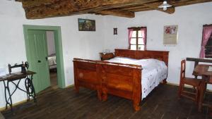 Postelja oz. postelje v sobi nastanitve Homestay Kapl