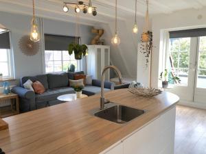 Küche/Küchenzeile in der Unterkunft Apartment Schelpenplein