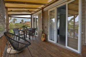 A balcony or terrace at Sas Robrecht