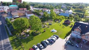 Widok z lotu ptaka na obiekt Hotel Restauracja Rywa Verci
