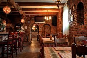 Restauracja lub miejsce do jedzenia w obiekcie Stary Młyn
