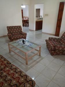 A seating area at Green's Palace Jamaica