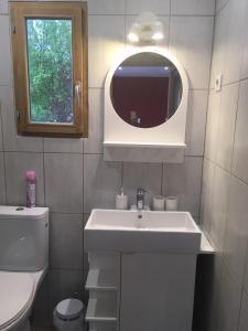 A bathroom at Les Condamines