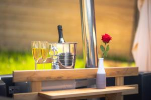 Drinks at Alp Glamping Village