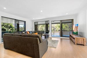 A seating area at Bonville on Bonville