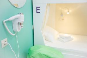 Кровать или кровати в номере Hostel 60