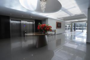The lobby or reception area at Casa Andina Select Chiclayo