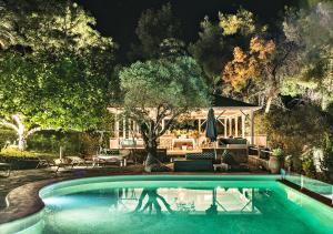 The swimming pool at or near sanidiamonds