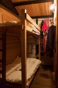 KAZENOMORI KITCHENにある二段ベッド