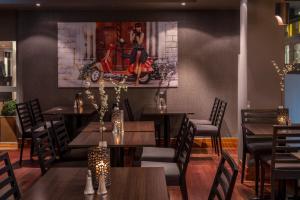 En restaurang eller annat matställe på First Hotel Millennium
