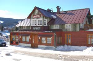 Pension Jaruska v zimě