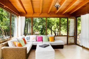 A seating area at Important Group   BD416 High Privacy 2 Bedroom Villa in Bitez