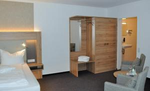 Ein Badezimmer in der Unterkunft Hotel Restaurant Große Teichsmühle