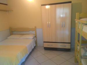 Cama ou camas em um quarto em Guest House Giulio Cesare