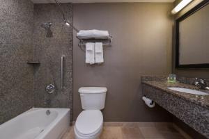 A bathroom at Holiday Inn Ontario Airport - California, an IHG hotel