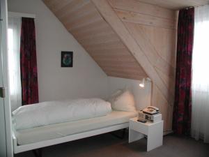 Ein Sitzbereich in der Unterkunft Seminarhotel Linde Stettlen