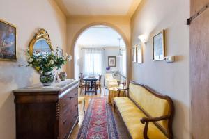 A seating area at Appartamenti Belvedere