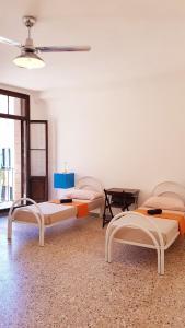 A seating area at Casa Fiori