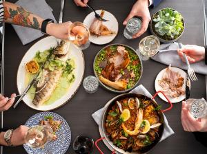 Lunch and/or dinner options available to guests at Sofitel Chicago Magnificent Mile