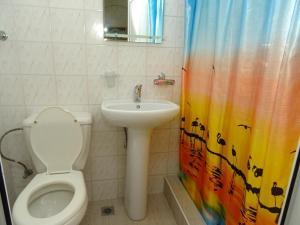 Ванная комната в Гостевой Дом Анжелика