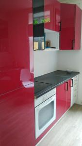 A kitchen or kitchenette at Center rooms