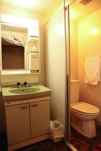 Salle de bains dans l'établissement Ogawaya