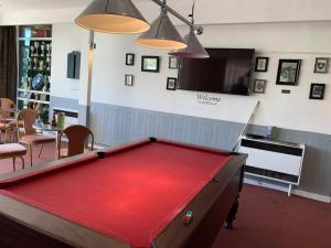 A pool table at Ellesmere Port Golf Club